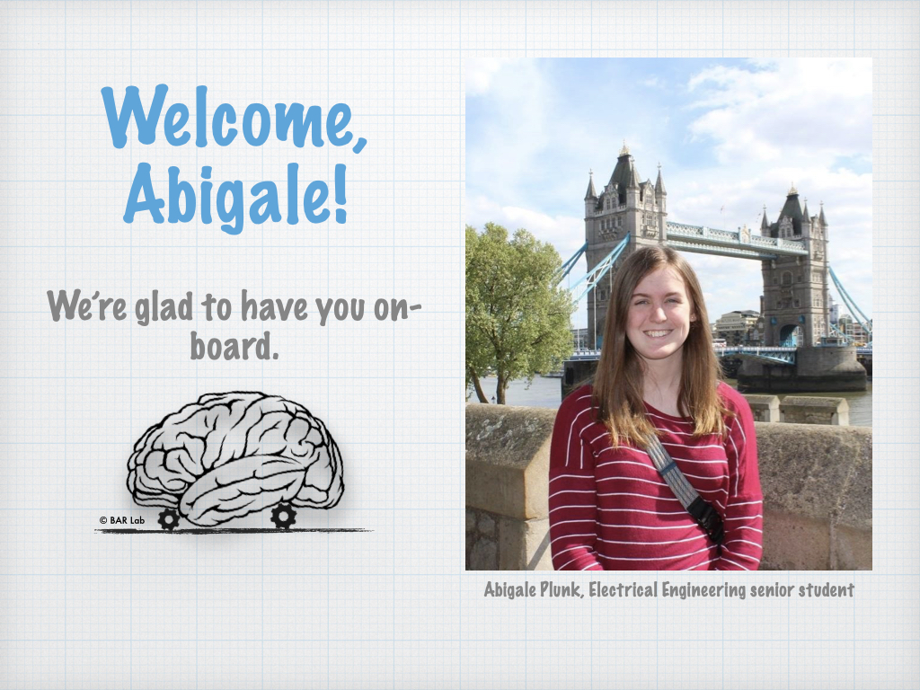 Welcome, Abigale! We're glad to have you on-board.