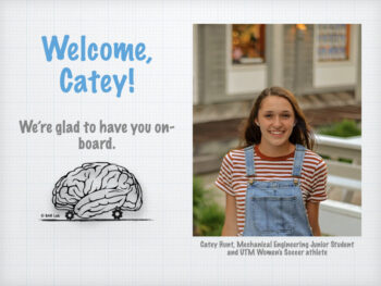 Welcome, Catey! We're so glad to have you on-board