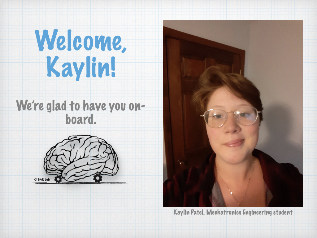 Welcome, Kaylin! We're glad to have you on-board.